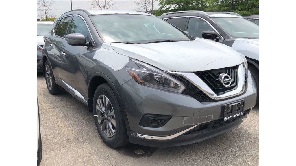2018 Nissan Murano S FWD CVT in Mississauga, Ontario - 3 - w1024h768px
