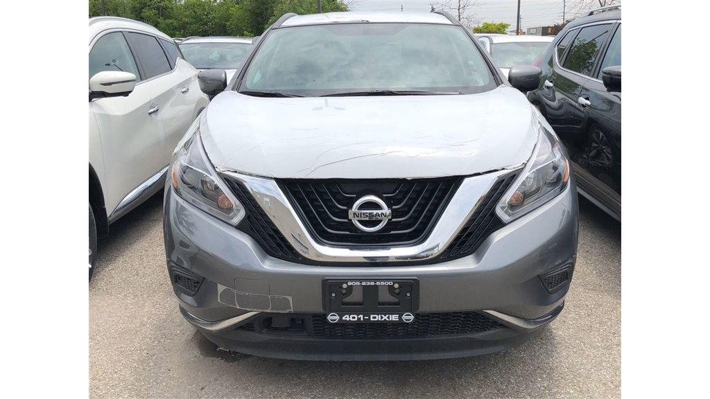 2018 Nissan Murano S FWD CVT in Mississauga, Ontario - 2 - w1024h768px