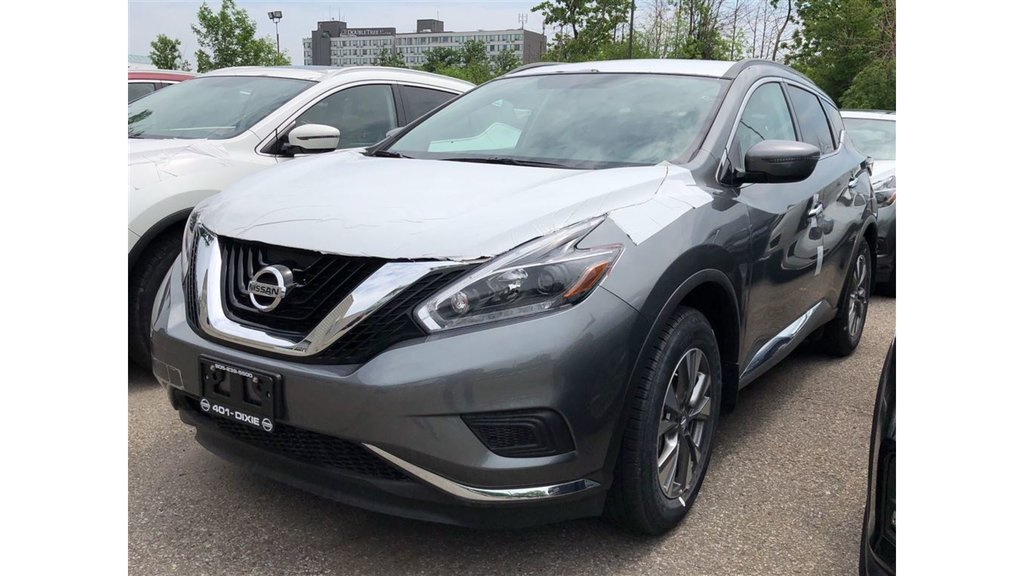 2018 Nissan Murano S FWD CVT in Mississauga, Ontario - 1 - w1024h768px
