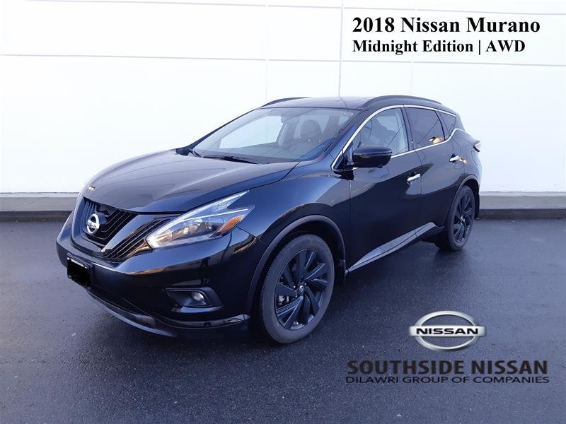 2018 Nissan Murano Midnight Edition AWD CVT in Vancouver, British Columbia - 1 - w1024h768px
