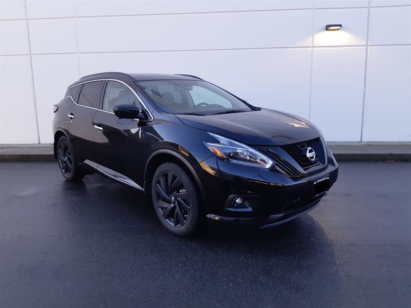 2018 Nissan Murano Midnight Edition AWD CVT in Vancouver, British Columbia - 2 - w1024h768px