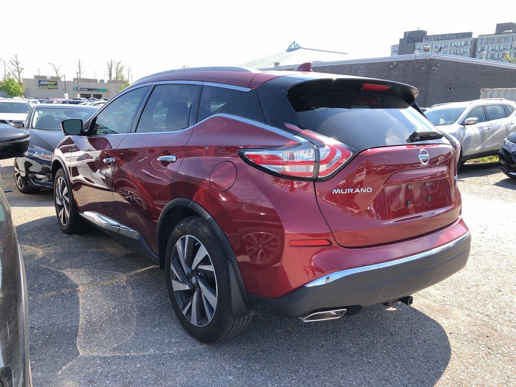 2018 Nissan Murano Platinum AWD CVT in Mississauga, Ontario - 5 - w1024h768px