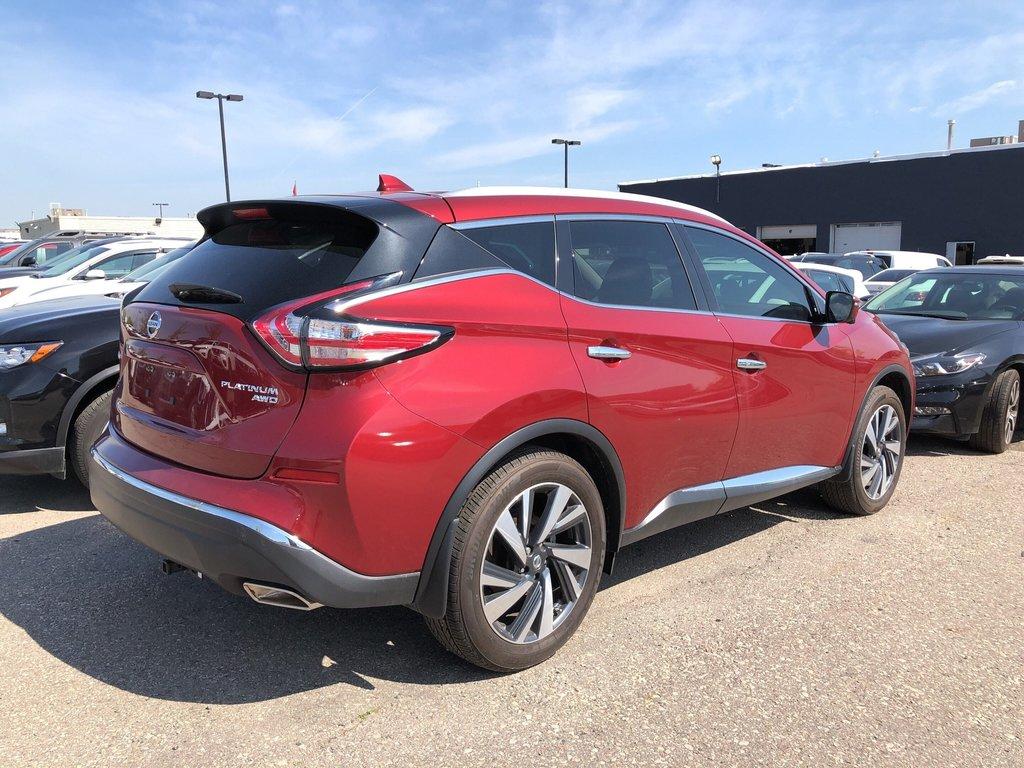 2018 Nissan Murano Platinum AWD CVT in Mississauga, Ontario - 3 - w1024h768px