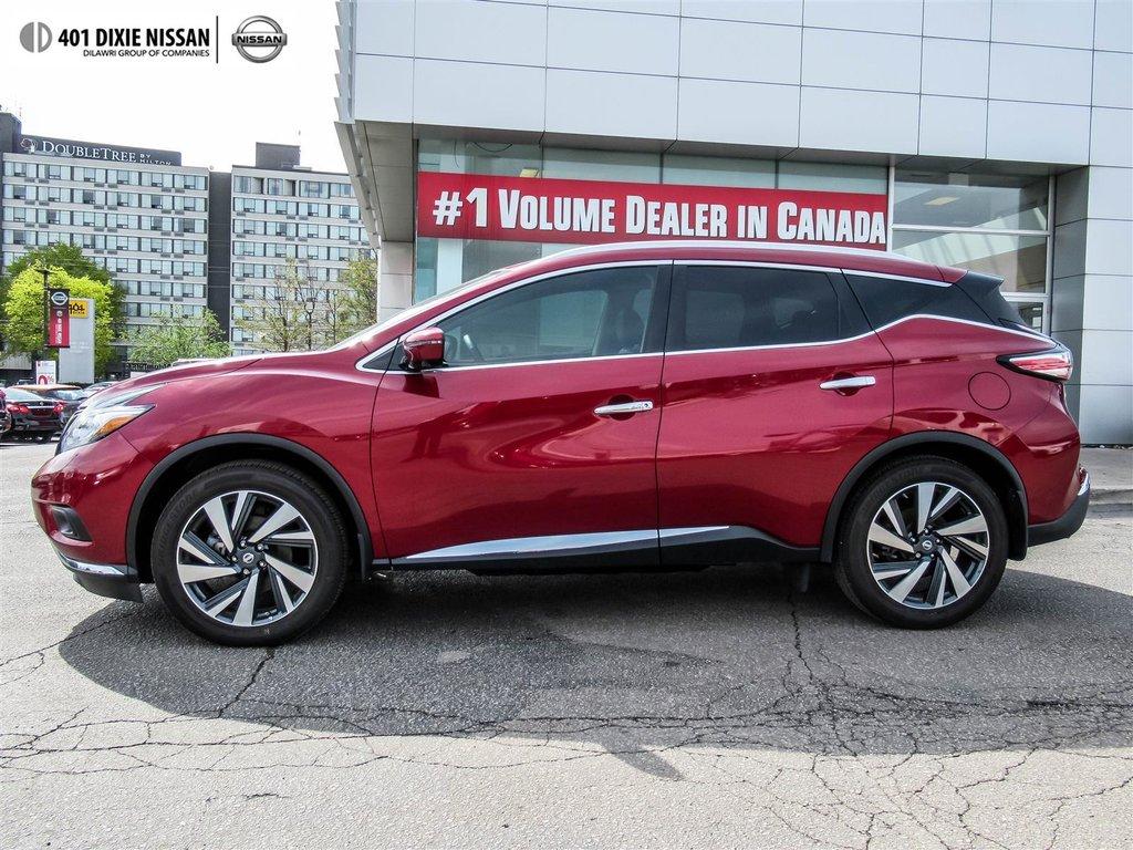 2018 Nissan Murano Platinum AWD CVT in Mississauga, Ontario - 13 - w1024h768px