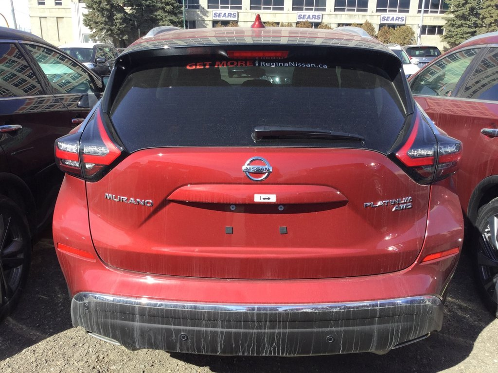 2019 Nissan Murano Platinum AWD CVT in Regina, Saskatchewan - 3 - w1024h768px