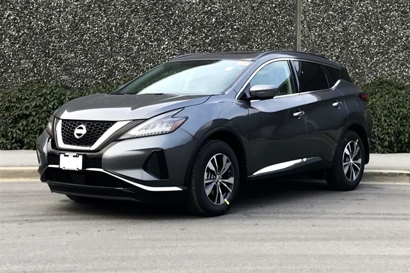 2019 Nissan Murano SV AWD CVT in North Vancouver, British Columbia - 2 - w1024h768px