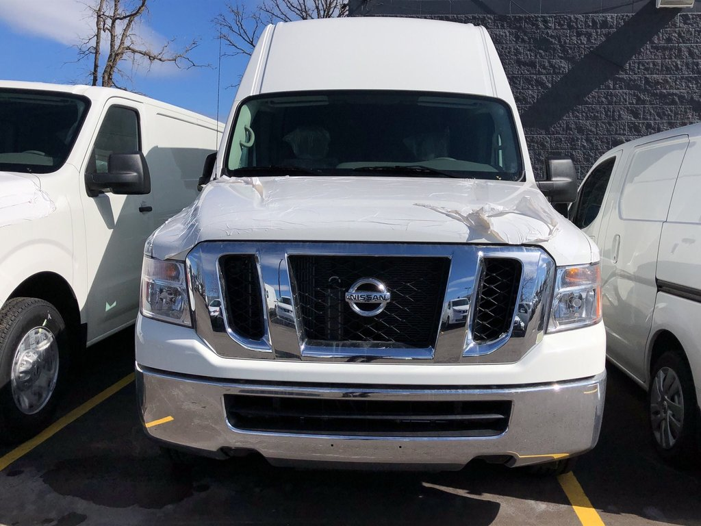 2019 Nissan NV 2500 Cargo SV V6 High Roof in Mississauga, Ontario - 2 - w1024h768px