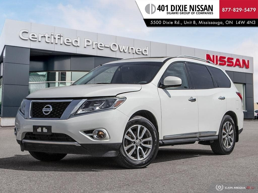 2014 Nissan Pathfinder SL V6 4x4 at in Mississauga, Ontario - 1 - w1024h768px