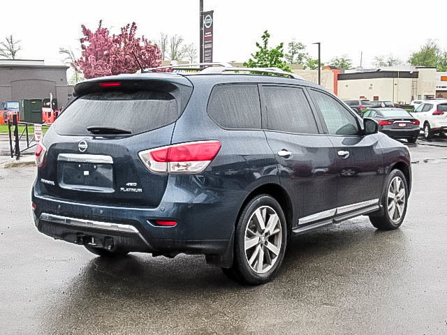 2016 Nissan Pathfinder Platinum V6 4x4 at in Mississauga, Ontario - 21 - w1024h768px