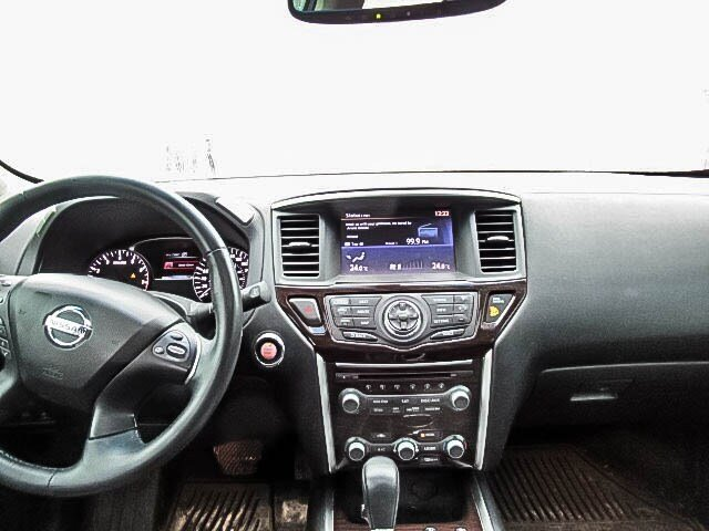 2016 Nissan Pathfinder Platinum V6 4x4 at in Mississauga, Ontario - 12 - w1024h768px