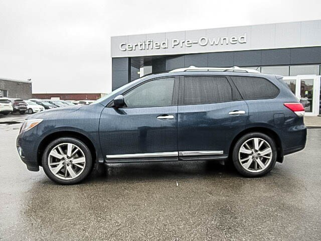 2016 Nissan Pathfinder Platinum V6 4x4 at in Mississauga, Ontario - 7 - w1024h768px