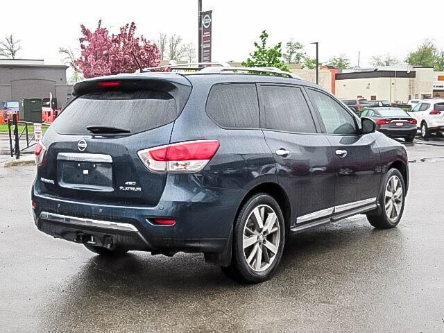 2016 Nissan Pathfinder Platinum V6 4x4 at in Mississauga, Ontario - 5 - w1024h768px