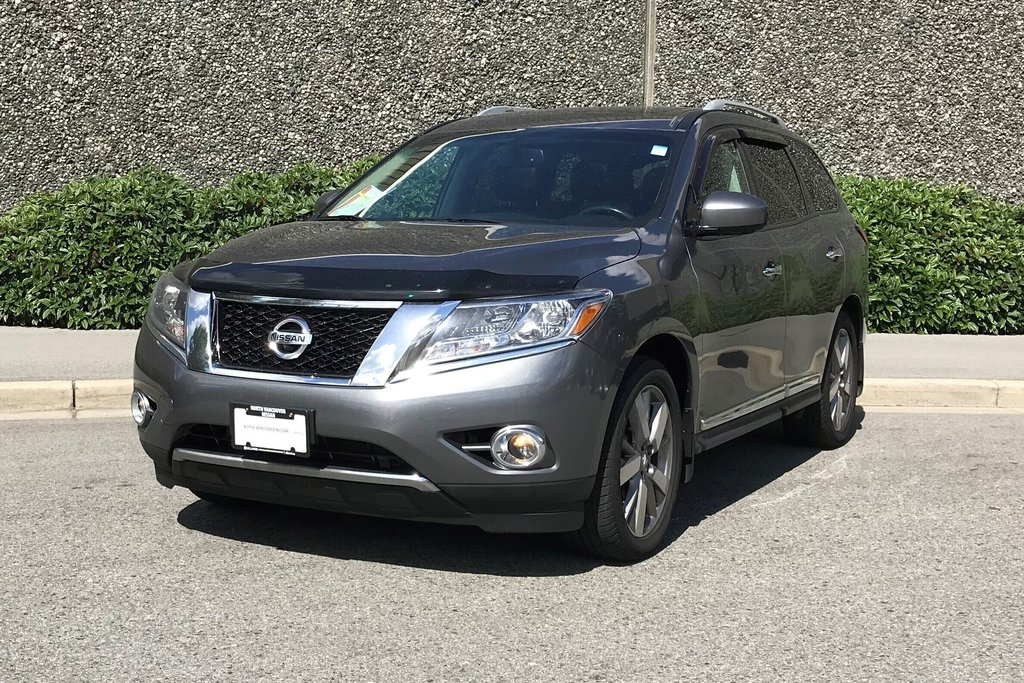 2016 Nissan Pathfinder Platinum V6 4x4 at in North Vancouver, British Columbia - 2 - w1024h768px