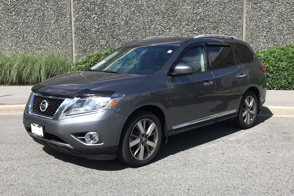 2016 Nissan Pathfinder Platinum V6 4x4 at in North Vancouver, British Columbia - 4 - w1024h768px