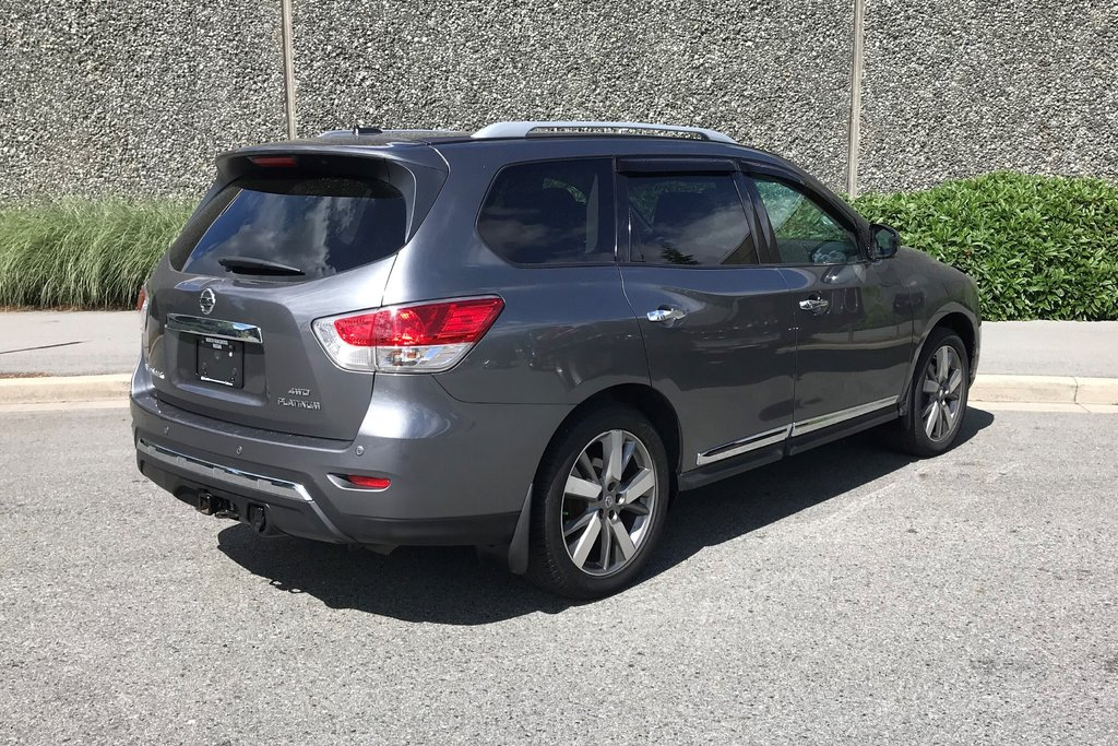 2016 Nissan Pathfinder Platinum V6 4x4 at in North Vancouver, British Columbia - 15 - w1024h768px