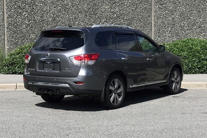 2016 Nissan Pathfinder Platinum V6 4x4 at in North Vancouver, British Columbia - 24 - w1024h768px
