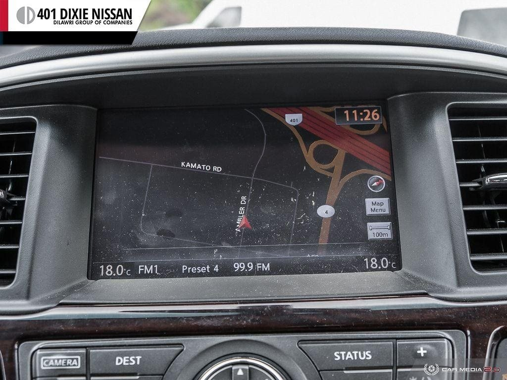 2016 Nissan Pathfinder SL V6 4x4 at in Mississauga, Ontario - 20 - w1024h768px
