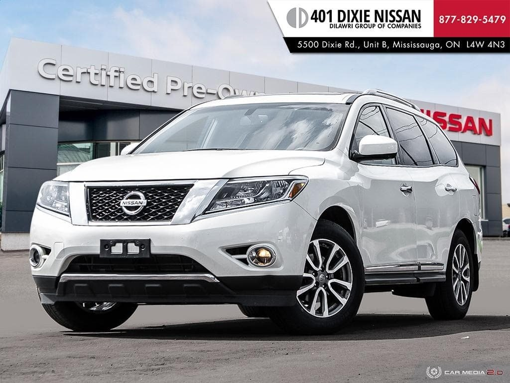 2016 Nissan Pathfinder SL V6 4x4 at in Mississauga, Ontario - 1 - w1024h768px
