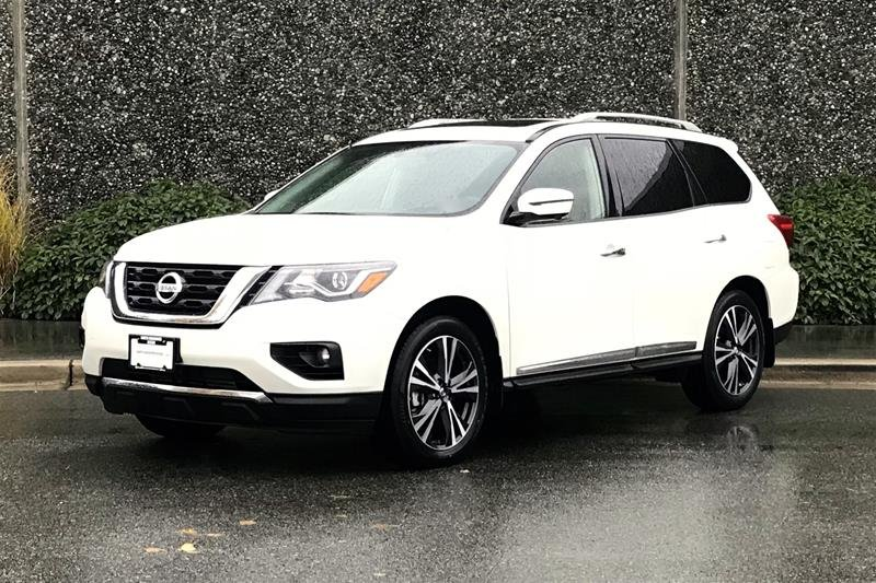 2018 Nissan Pathfinder Platinum V6 4x4 at in North Vancouver, British Columbia - 1 - w1024h768px