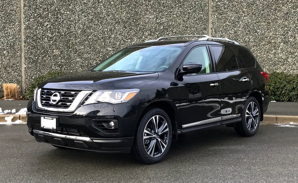 2018 Nissan Pathfinder Platinum V6 4x4 at in North Vancouver, British Columbia - 2 - w1024h768px