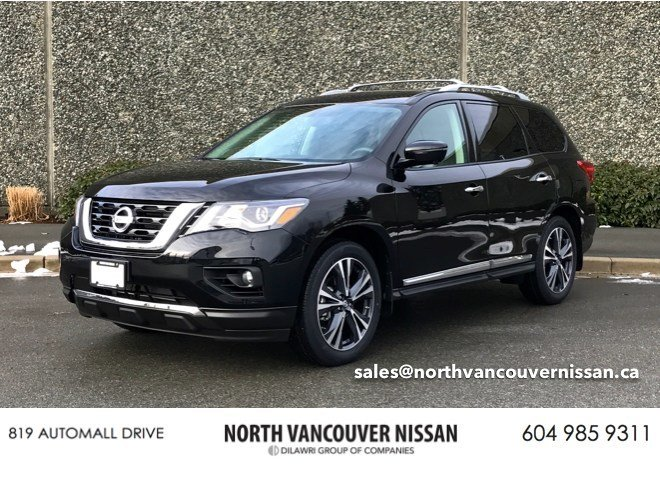2018 Nissan Pathfinder Platinum V6 4x4 at in North Vancouver, British Columbia - 15 - w1024h768px