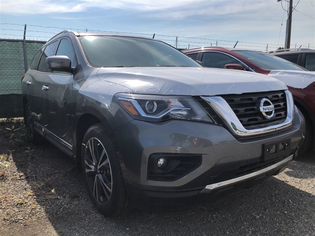 2018 Nissan Pathfinder Platinum V6 4x4 at in Vancouver, British Columbia - 3 - w1024h768px