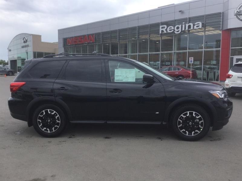 2019 Nissan Pathfinder SL Premium V6 4x4 at in Regina, Saskatchewan - 3 - w1024h768px