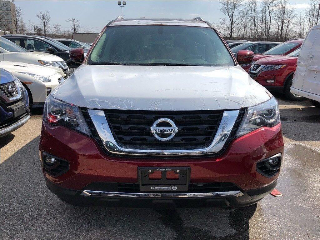 2019 Nissan Pathfinder SL Premium V6 4x4 at in Mississauga, Ontario - 2 - w1024h768px