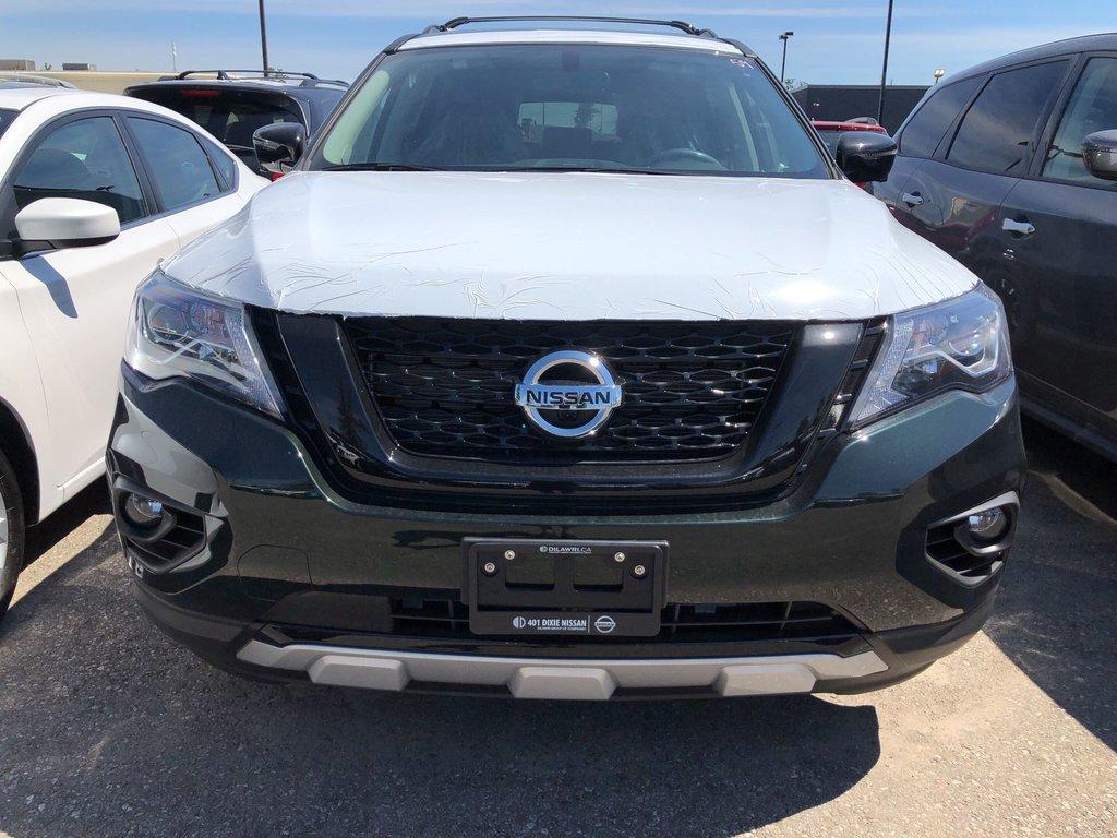 2019 Nissan Pathfinder SL Premium V6 4x4 at in Mississauga, Ontario - 3 - w1024h768px