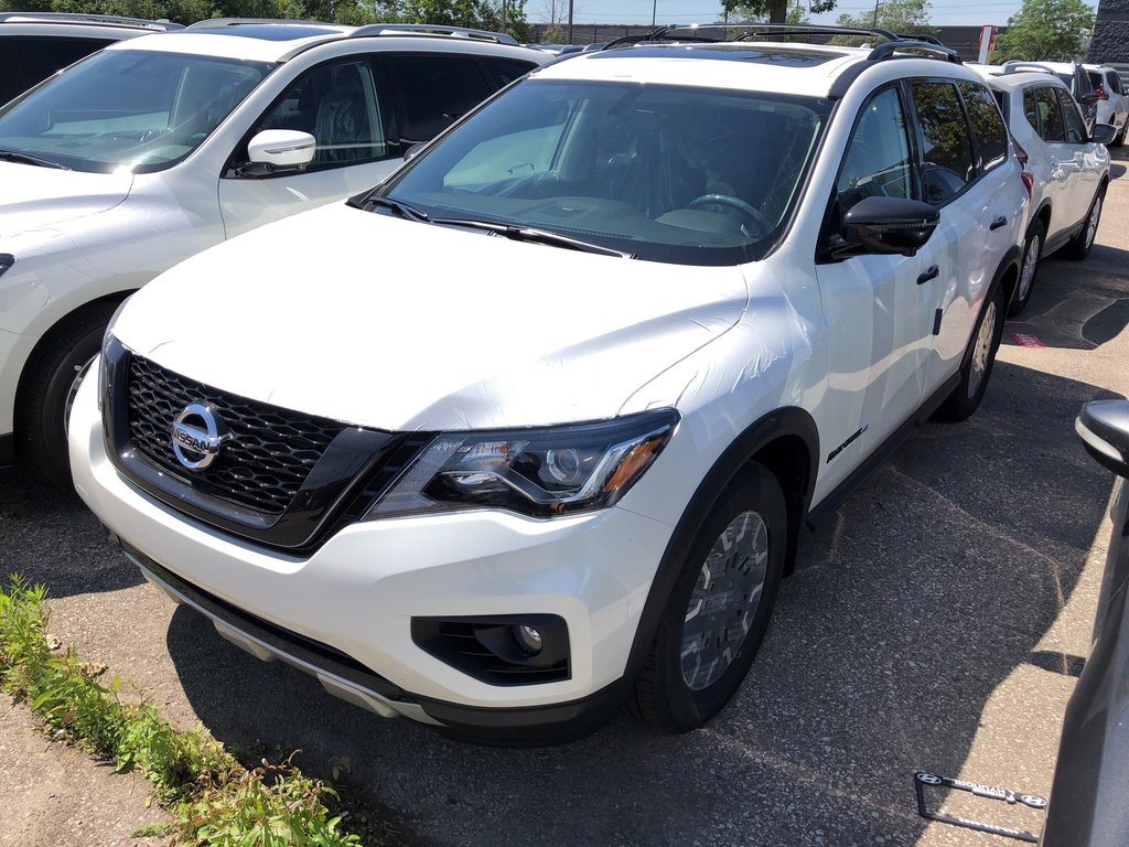 2019 Nissan Pathfinder SL Premium V6 4x4 at in Mississauga, Ontario - 5 - w1024h768px