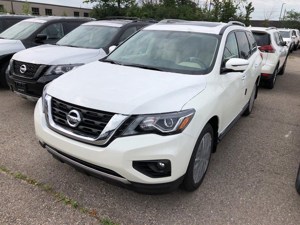 2019 Nissan Pathfinder Platinum V6 4x4 at in Mississauga, Ontario - 5 - w1024h768px