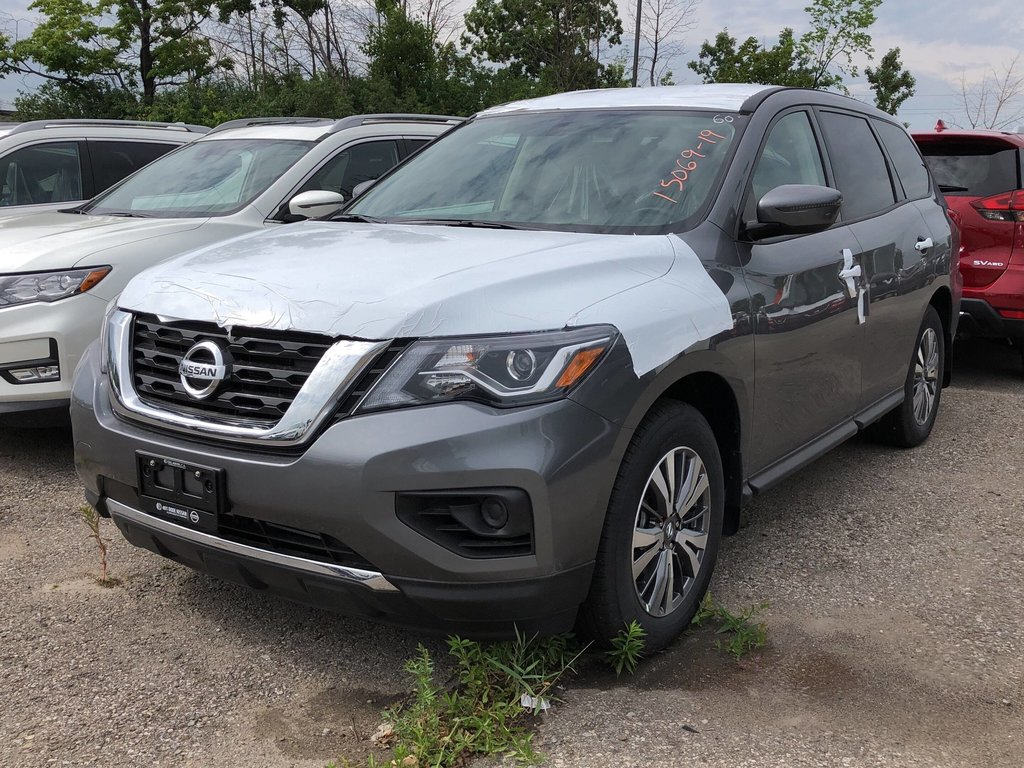 2019 Nissan Pathfinder S V6 4x4 at in Mississauga, Ontario - 1 - w1024h768px
