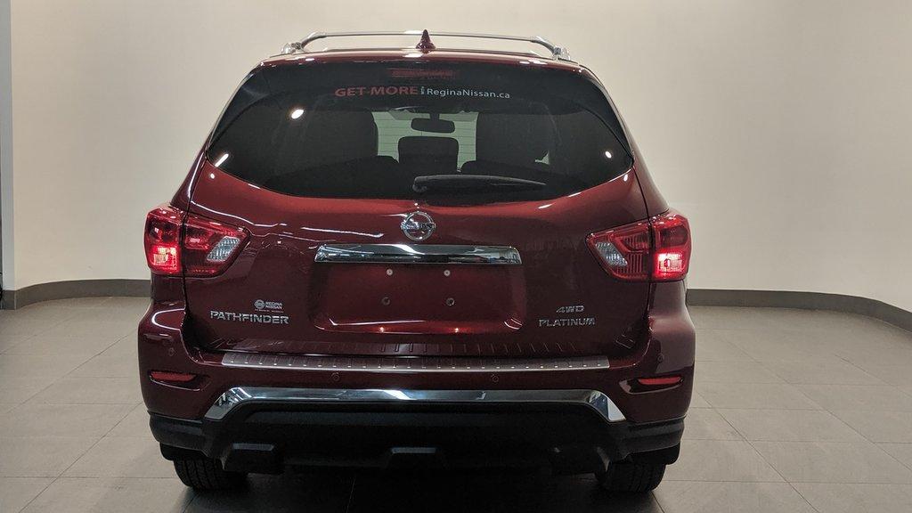 2019 Nissan Pathfinder Platinum V6 4x4 at in Regina, Saskatchewan - 24 - w1024h768px