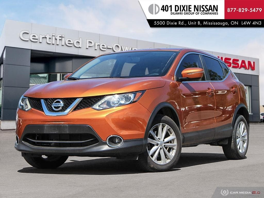 2017 Nissan Qashqai SV FWD CVT in Mississauga, Ontario - 1 - w1024h768px