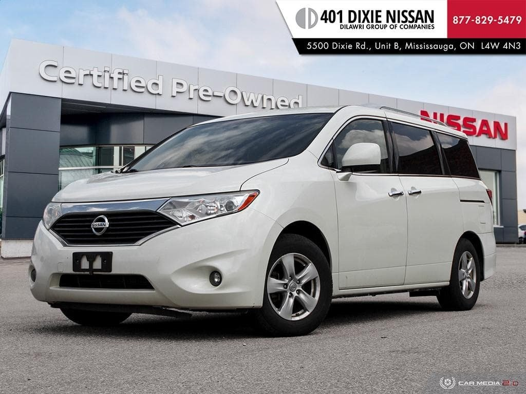 2011 Nissan Quest 3.5 SV CVT in Mississauga, Ontario - 1 - w1024h768px