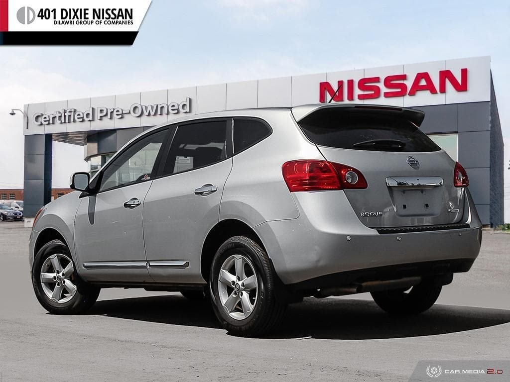 2013 Nissan Rogue S FWD CVT in Mississauga, Ontario - 4 - w1024h768px
