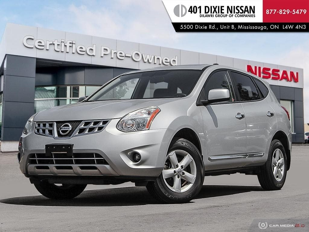 2013 Nissan Rogue S FWD CVT in Mississauga, Ontario - 1 - w1024h768px