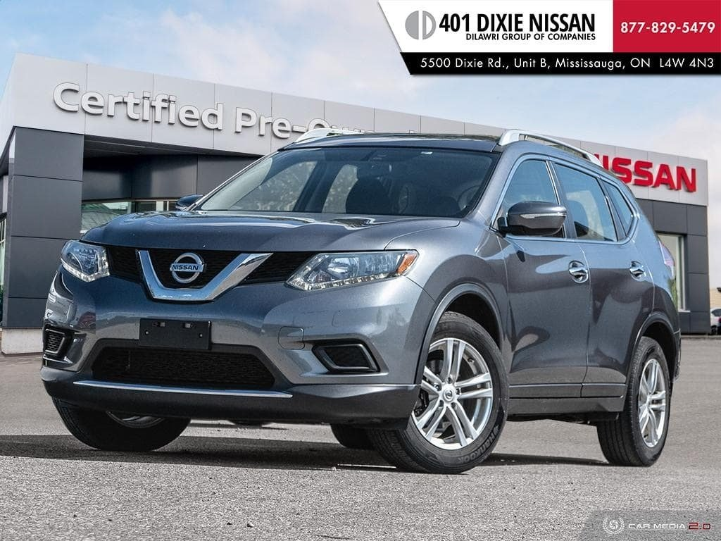 2014 Nissan Rogue S FWD CVT in Mississauga, Ontario - 1 - w1024h768px