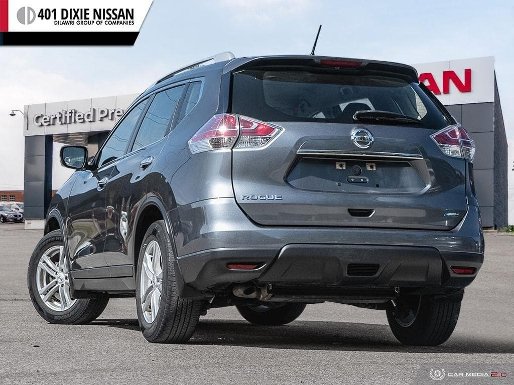 2014 Nissan Rogue S FWD CVT in Mississauga, Ontario - 4 - w1024h768px