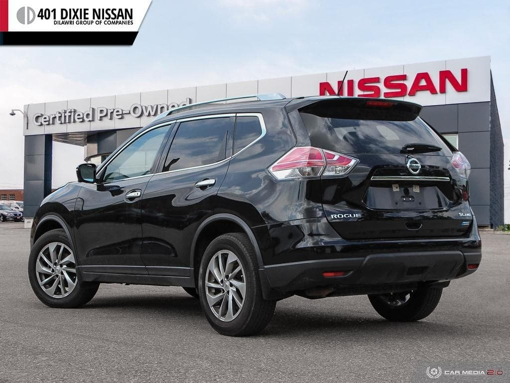 2014 Nissan Rogue SL AWD CVT in Mississauga, Ontario - 4 - w1024h768px