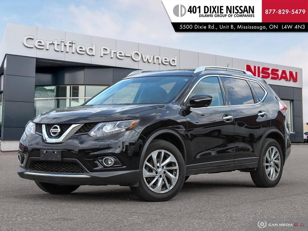 2014 Nissan Rogue SL AWD CVT in Mississauga, Ontario - 1 - w1024h768px