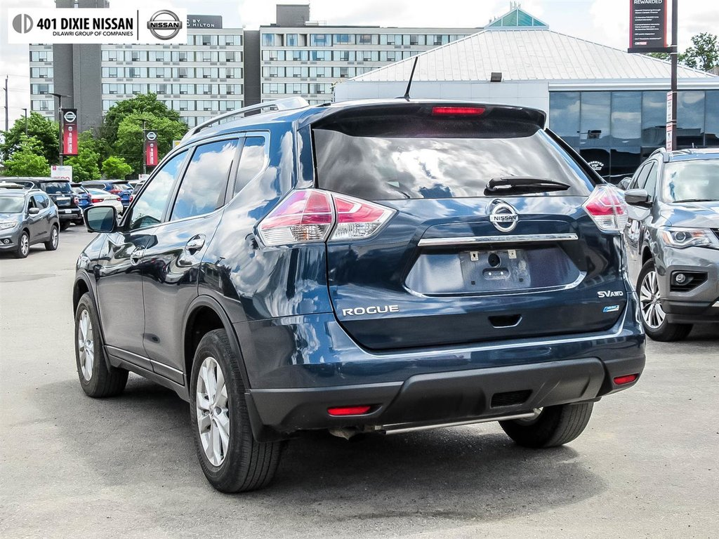 2015 Nissan Rogue SV AWD CVT in Mississauga, Ontario - 7 - w1024h768px