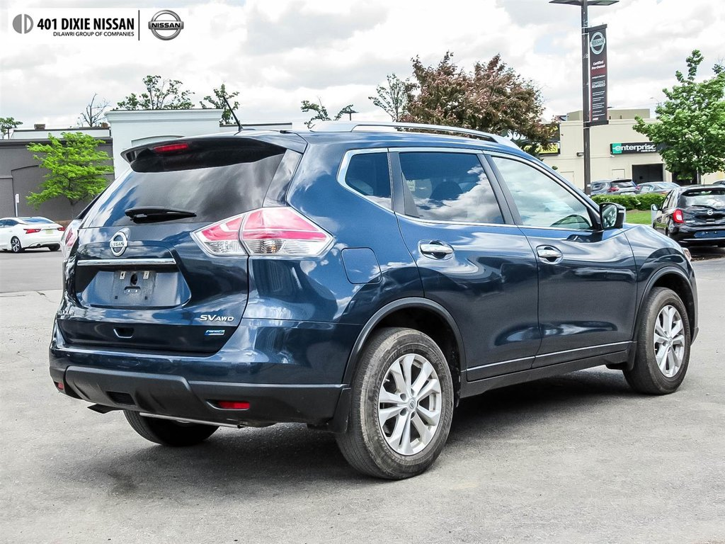 2015 Nissan Rogue SV AWD CVT in Mississauga, Ontario - 31 - w1024h768px
