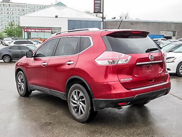 2016 Nissan Rogue SL AWD Premium CVT in Mississauga, Ontario - 29 - w1024h768px