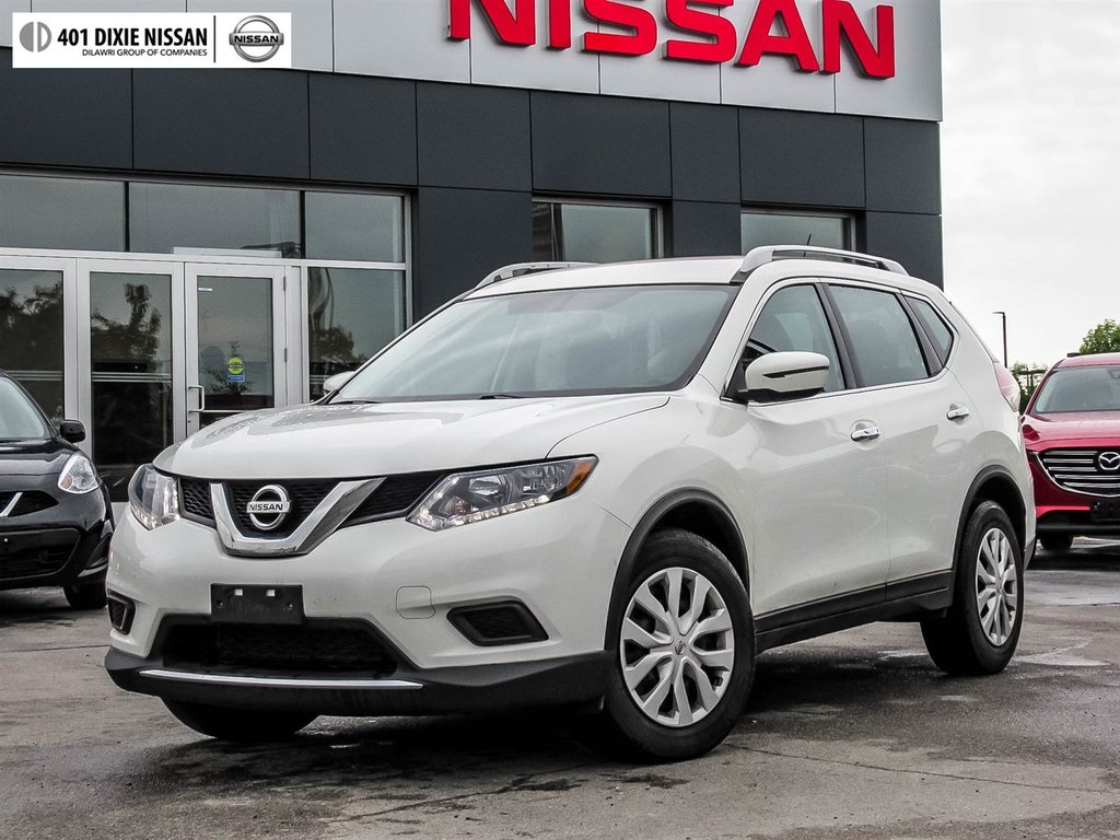 2016 Nissan Rogue S FWD CVT in Mississauga, Ontario - 12 - w1024h768px