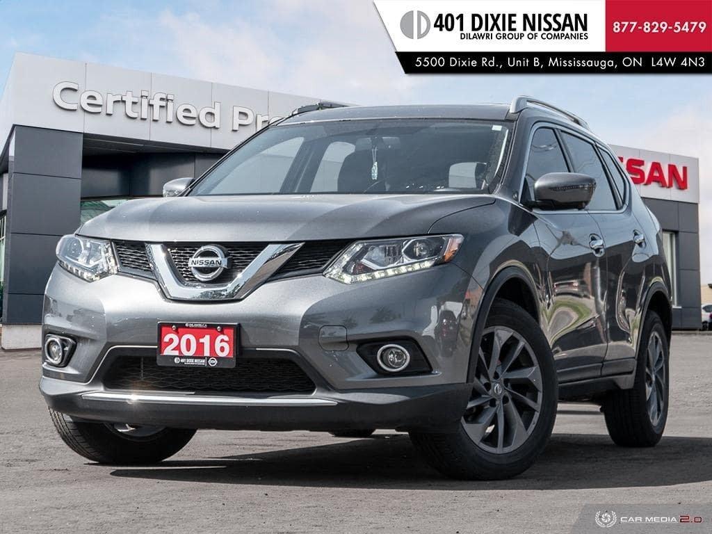 2016 Nissan Rogue SL AWD Premium CVT in Mississauga, Ontario - 1 - w1024h768px