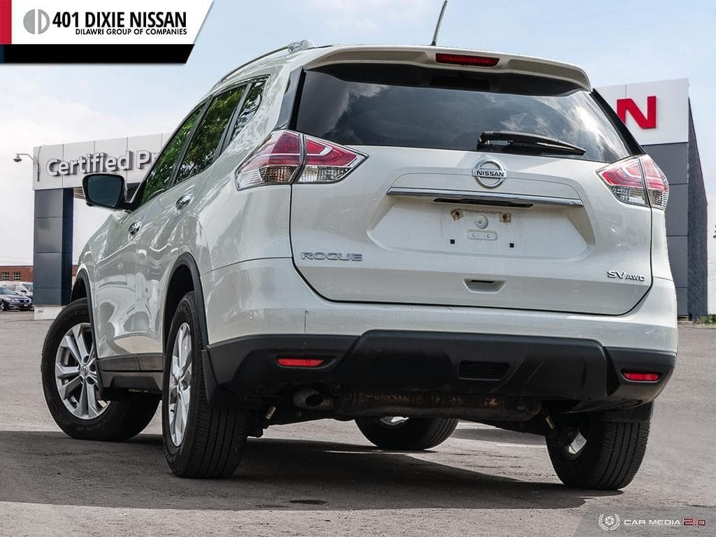 2016 Nissan Rogue SV AWD CVT in Mississauga, Ontario - 4 - w1024h768px
