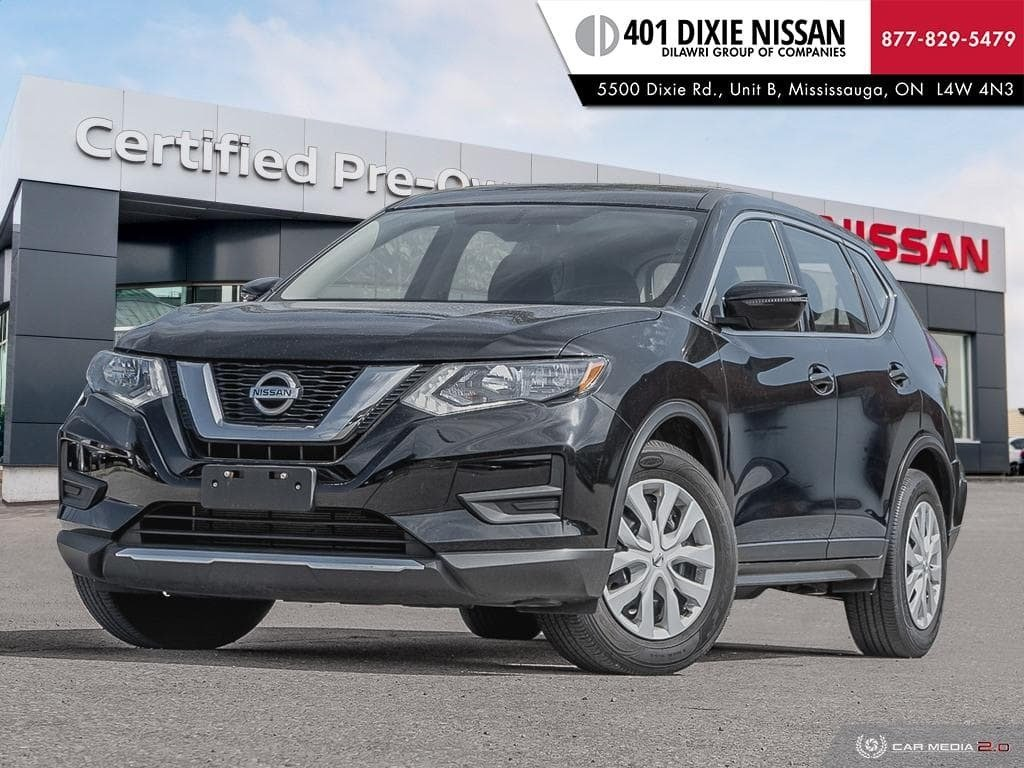 2017 Nissan Rogue S FWD CVT in Mississauga, Ontario - 1 - w1024h768px