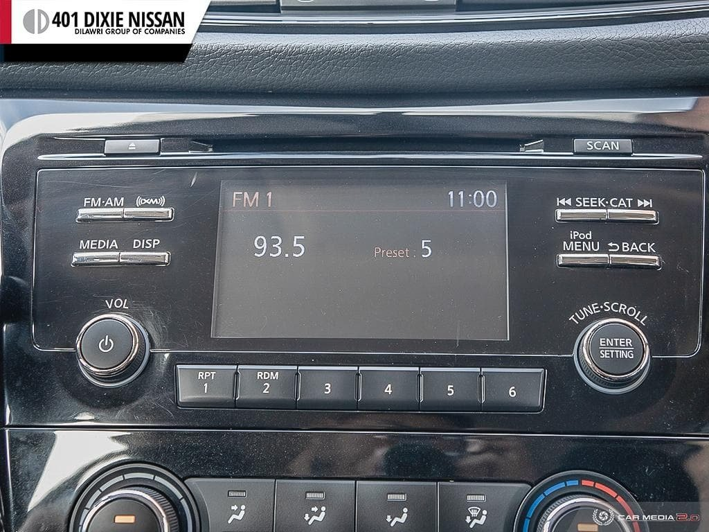 2017 Nissan Rogue S FWD CVT in Mississauga, Ontario - 22 - w1024h768px
