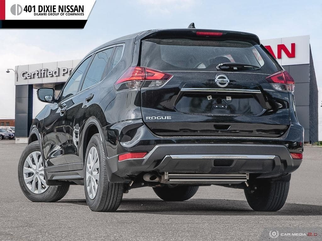 2017 Nissan Rogue S FWD CVT in Mississauga, Ontario - 4 - w1024h768px
